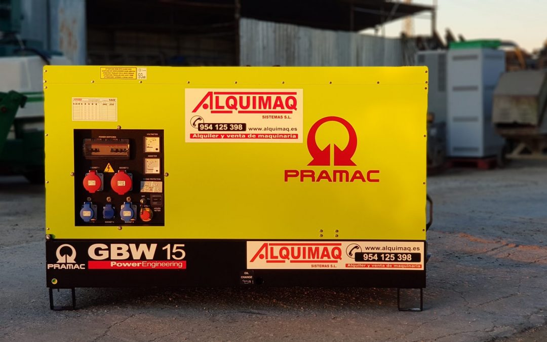 GRUPOS ELECTROGENOS PRAMAC ALQUIMAQ