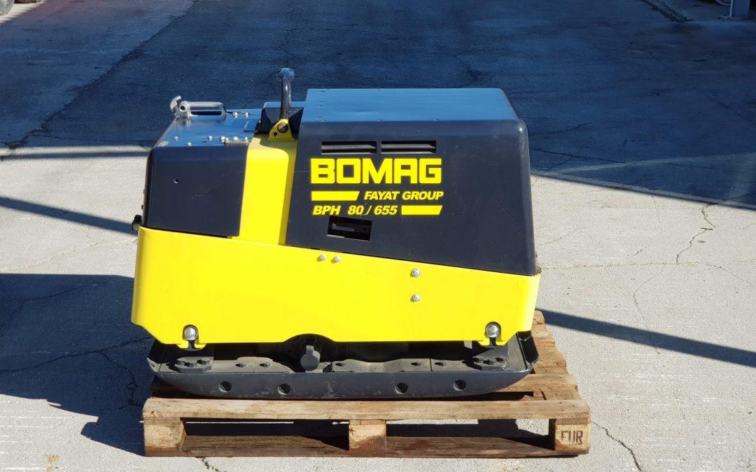 Bandeja compactadora Bomag