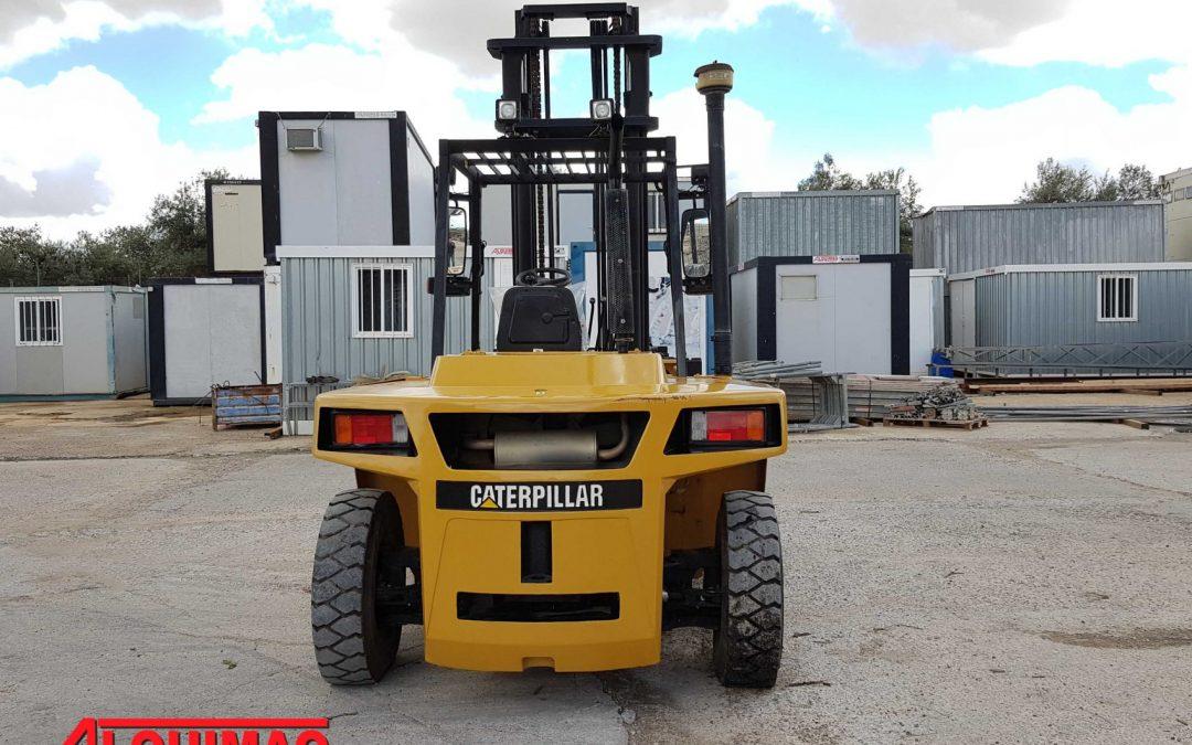 Carretilla industrial diésel usada CATERPILLAR CAT modelo DP70