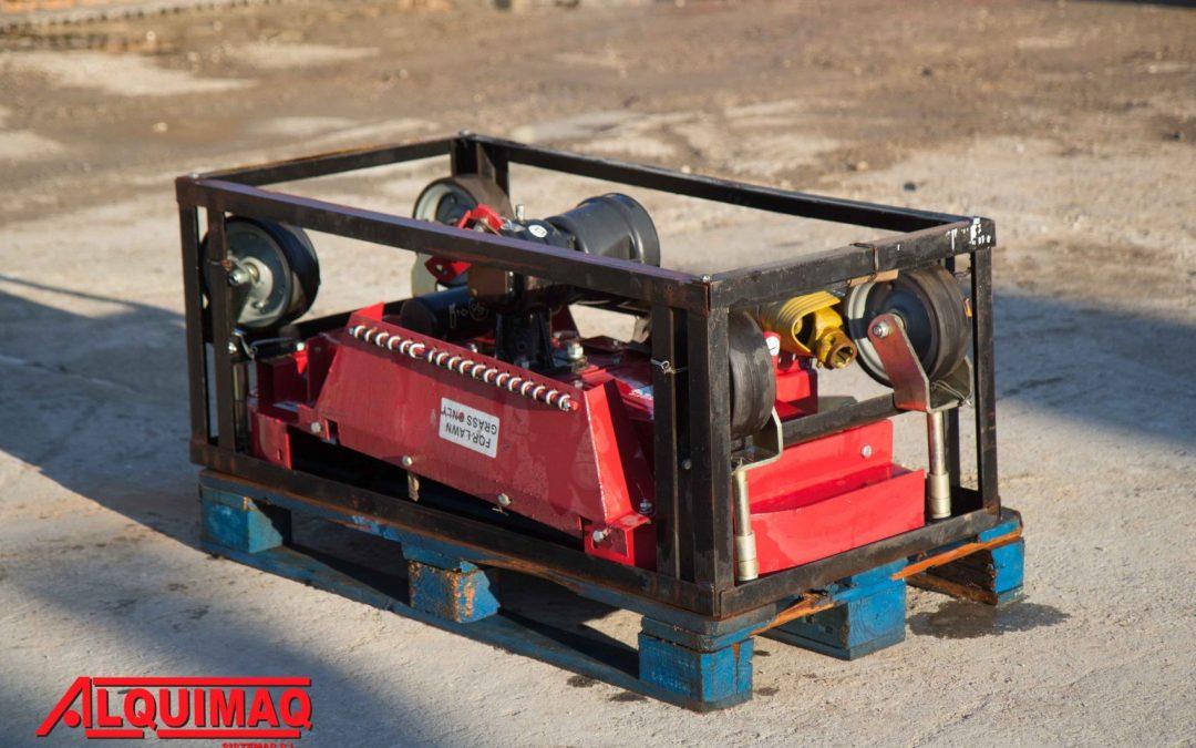 segadora de tractor