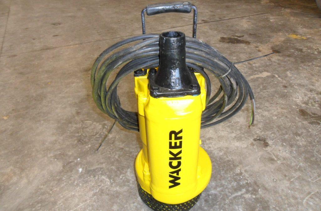 Bomba sumergible eléctrica Wacker