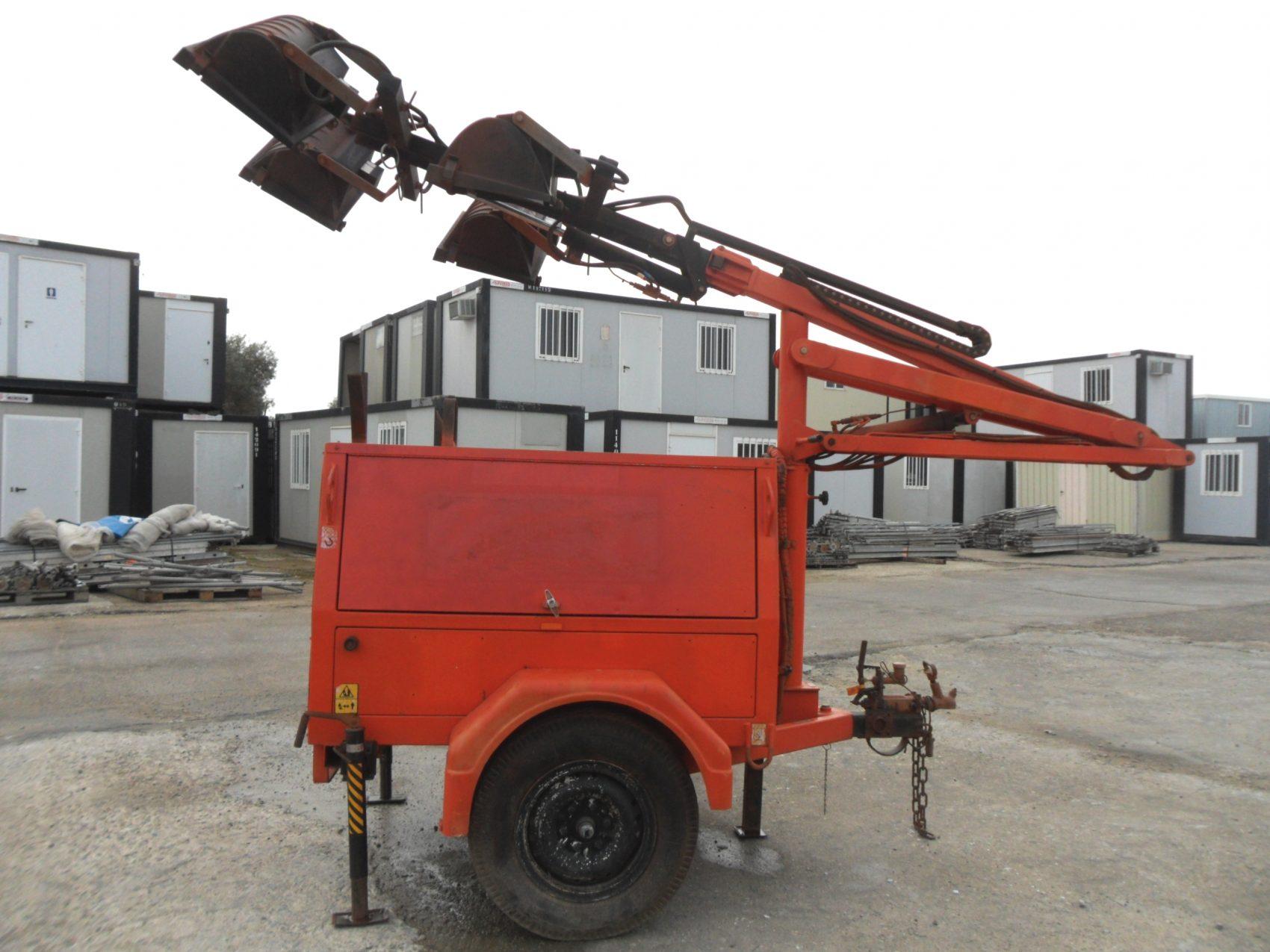 Generador Diesel marca JLG motor Kubota 8