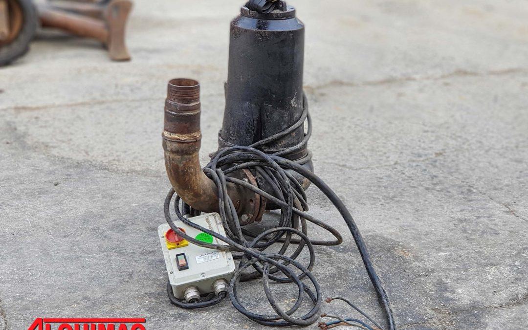 Bomba de aguan sumergible