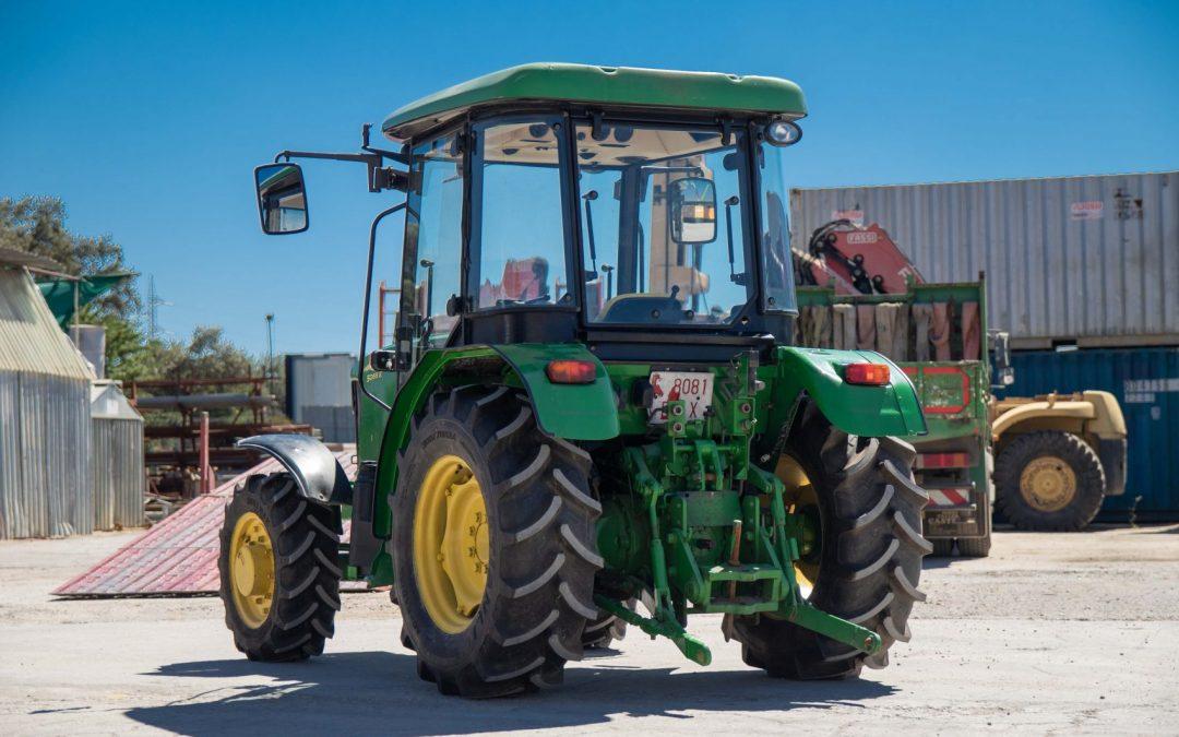 Tractor Frutero John Deere 2