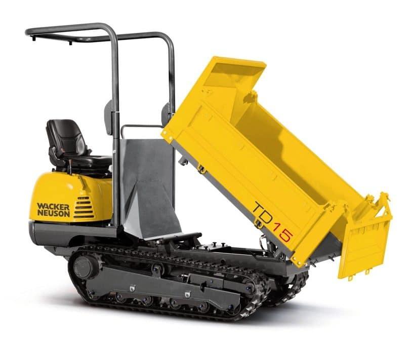 Alquiler de maquinaria para Transportes de materiales ligeros y sólidos