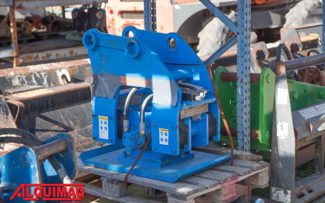 Compactador hidráulico para excavadora EUROTEC