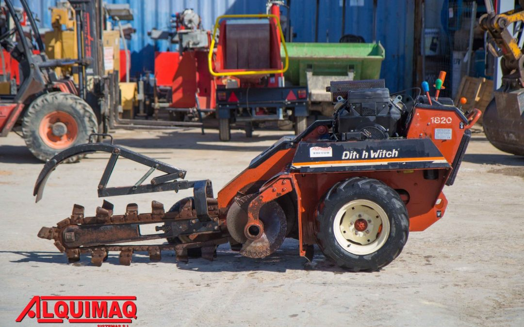 Zanjadora usada DITCH WITCH