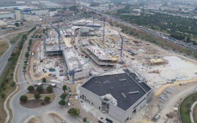 Aumenta la construcción en Sevilla