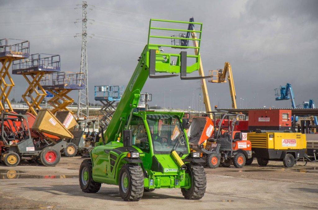 Alquiler de maquinaria para la construcción en Sevilla