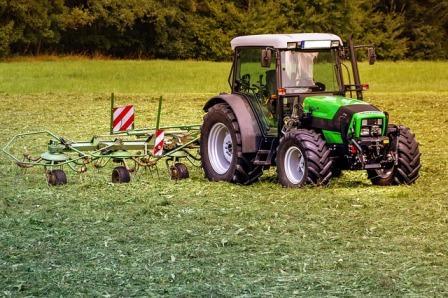la agricultura y jardineria en primavera