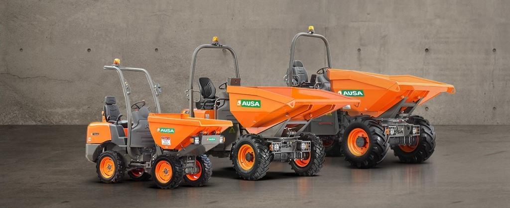 Maquinaria construcción Nuevo Dumper Ausa 2019