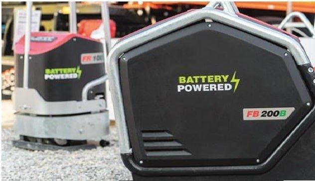 placa reversible alimentada por batería