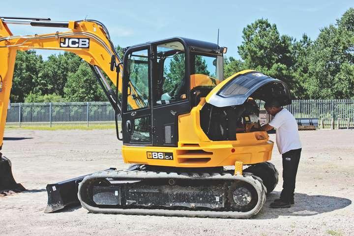 Cómo conservar tu excavadora compacta