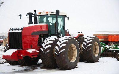 Cómo cuidar la maquinaria en invierno