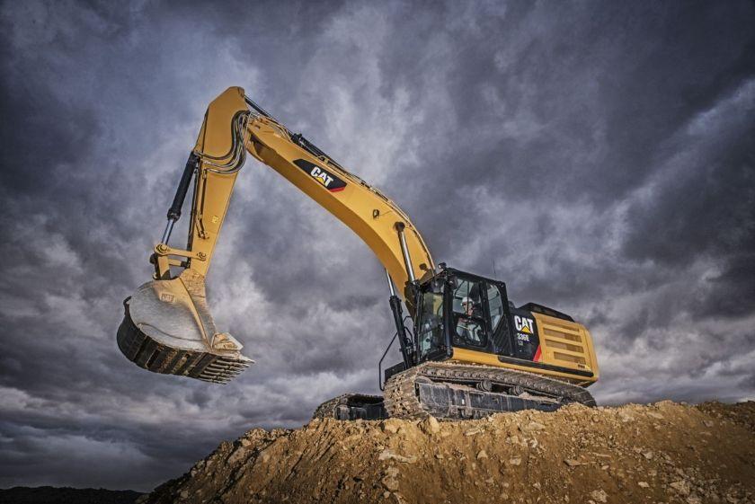Excavadoras hidráulicas. Tipos y componentes