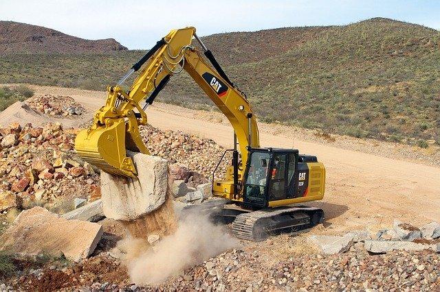Seguridad en el uso de máquinas de construcción